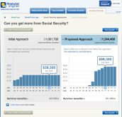 Financial Engines Interactive Social Security Planner